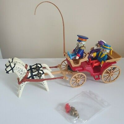 £33.95 • Buy Vintage Playmobil 5600 Victorian Horse & Carriage *Incomplete*