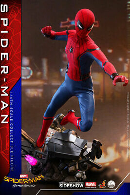 $ CDN677.25 • Buy Spider-Man: Homecoming Quarter Scale 1/4 Hot Toys Sideshow Figure Tom Holland