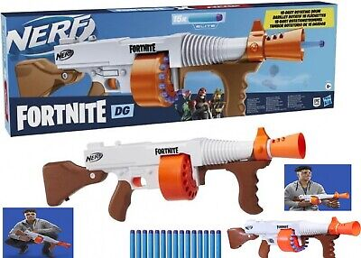 AU103.55 • Buy Nerf Fortnite DG Blaster Rotating Drum Ages 8+ Toy Gun Fire Play Fight Game Gift