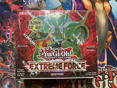 £58.49 • Buy Yugioh Extreme Force 1st Edition Sealed Booster Box Free 1st Class Postage !