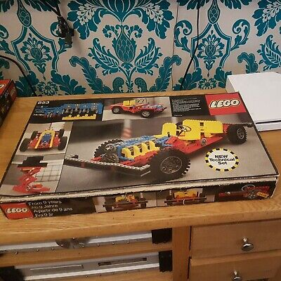 £80 • Buy LEGO Technic Set 853 - CAR CHASSIS (Complete) - Boxed - 1977 Vintage
