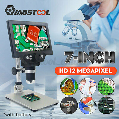 £68.99 • Buy 7  1200X Electronic Microscope HD LCD Monitor Digital Video LED Magnifier Stand
