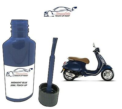 £6.50 • Buy For Piaggio Vespa Midnight Blue - 222/a Paint Touch Up 30ml Motorbike Scooter