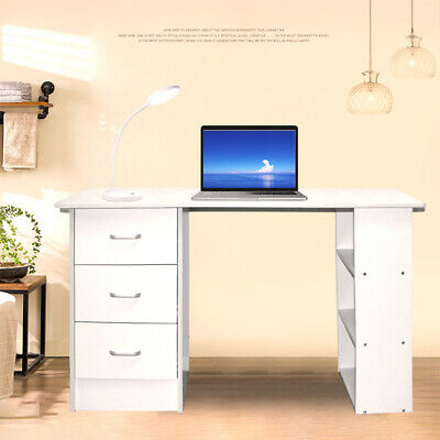 AU108.81 • Buy Computer Desk Study Office Storage PC Laptop Table Student Home Writing Table