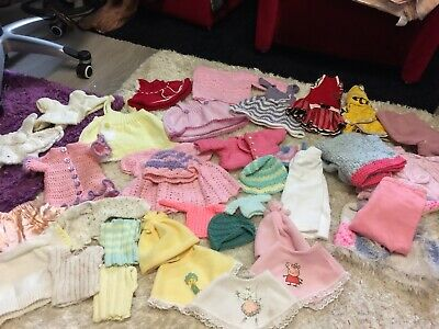 £28 • Buy Large Quantity  Of  Smoky DOLL ROBY/ROSIE/For Hand Knitted Job Lots Clothes