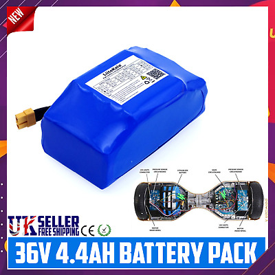 $ CDN86.54 • Buy 36v 4.4ah Battery For Hoverboard Segway Scooter Replacement Lithium-ion 4400mah