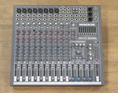 £355.60 • Buy Mackie CFX12 Mixer 2003 12 Channel Compact Integrated Live Sound Mixer 100 Volts