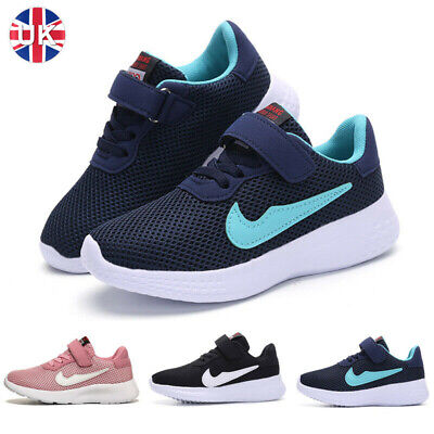 £14.99 • Buy  Girls Boys Running Trainers Lightweight School Sports Shoes Kids Sneakers Size
