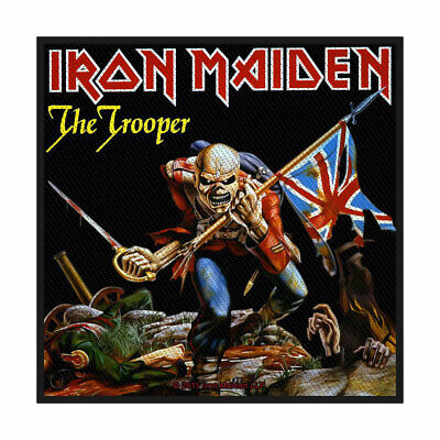 £3.69 • Buy Iron Maiden -  The Trooper  - Woven Sew On Packed Patch