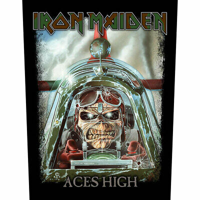 £6.99 • Buy Iron Maiden -  Aces High  - Large Size - Sew On Back Patch