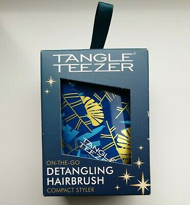 £8.99 • Buy TANGLE TEEZER On-the-go Detangling Hairbrush Compact Styler For All Hair Types