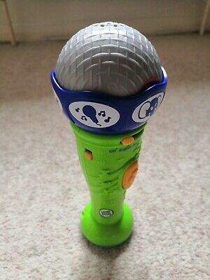 £5.99 • Buy Leap Frog Green Learn & Groove English French Preschool Microphone Toy 24mths+