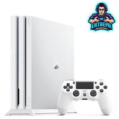 AU7.68 • Buy WHITE Vented Vertical Stand Dock Holder For Playstation 4 PS4 PRO Console