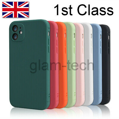 £2.99 • Buy Genuine Silicone Case Cover For IPhone 11 12 Pro Max XR XS SE 8 7 Plus UK