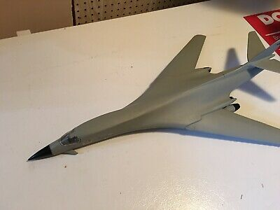 """$65 • Buy B-1 Bomber 1/72 Scale Kit Model Already Built 24"""" Length Wings Is Movable"""