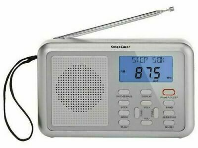 £14.95 • Buy Silver Crest Multi-Band Radio 4 Band FM/MW/LW/SW With Mains Adapter. Alarm Clock