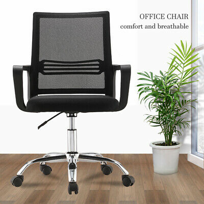 AU45.90 • Buy Gaming Chair Office Chair Computer Mesh Chairs Executive Black