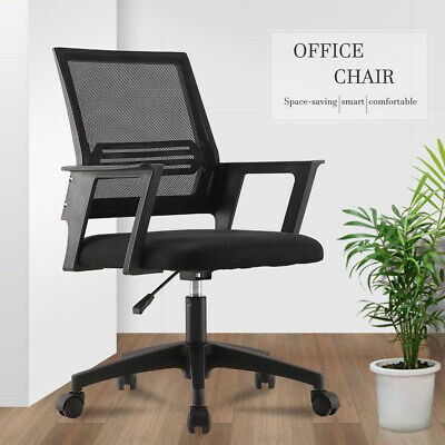 AU59.90 • Buy Office Chair Gaming Computer Chairs Mesh Back Executive Seating Study Seat Black
