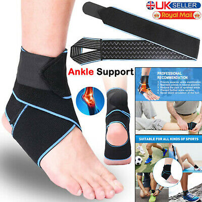 £3.84 • Buy Ankle Support Brace Compression Foot Strap Pain Relief Fasciitis Injury Planter