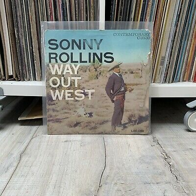 £15 • Buy (COVER ONLY) Sonny Rollins — Way Out West Vinyl Record LP (1958) UK Very Rare