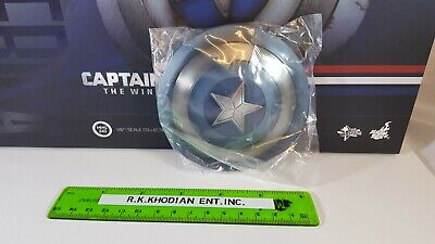 $ CDN155.58 • Buy Hot Toys MMS243 Captain America Action Figure's 1/6 Clean Version Metal Shield