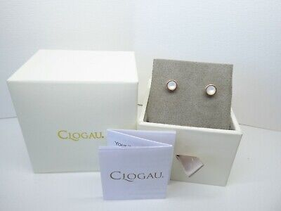 £55 • Buy Clogau Silver & Rose Gold Mother Of Pearl Birthstone (July) Stud Earrings RRP£89