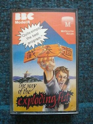 £3 • Buy The Way Of The Exploding Fist Cassette Tape By Melbourne House For BBC MIcro