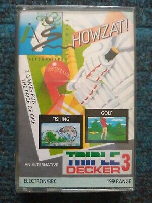 £3 • Buy Howzat Cassette Tape By Alternative Software For The BBC MIcro / Electron