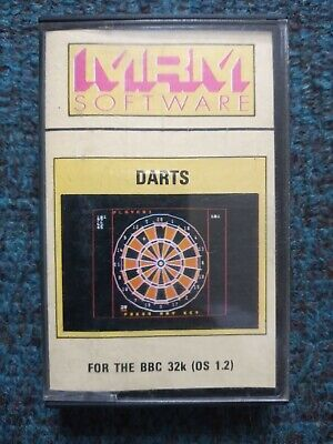 £3 • Buy Darts Cassette Tape By MRM Software For The BBC MIcro