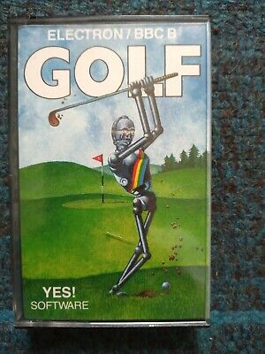 £3 • Buy Golf Cassette Tape By Yes! Software For The BBC MIcro / Electron