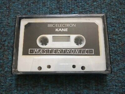 £2 • Buy Kane Cassette Tape By Mastertronic For The BBC MIcro