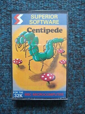 £3 • Buy Centipede Cassette Tape By Superior Software For The BBC MIcro