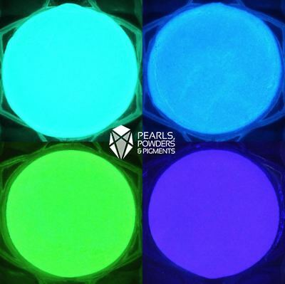 £2.29 • Buy Glow In The Dark Powder For Nails Fluorescent Paint Pigment Nail Art Polish Dip