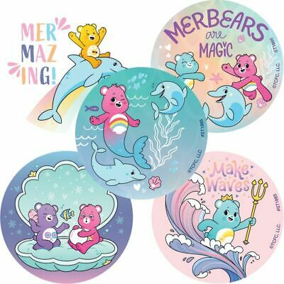 £1.55 • Buy Care Bears Stickers X 5 - Birthday Party - Favours - Loot Ideas - Mermaids
