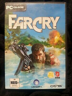 AU19.99 • Buy Far Cry - PC CD-ROM - Case With 5 Discs Plus Manual In Very Good Condition