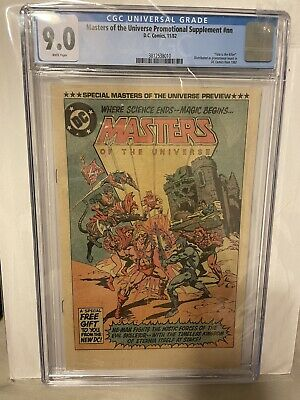 $449 • Buy 1982 He-Man Masters Of The Universe Promotional Supplement Comic Book CGC 9.