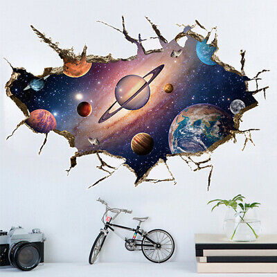 £0.99 • Buy 3D Star Starry Sky Removable Wall Sticker Art Decals Mural Decal Home Decor Kids