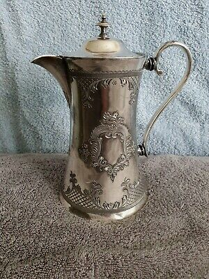 £39 • Buy Silver Plated Coffee Pot With White Star Line Etched Flag. Titanic Interest