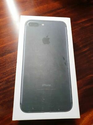 AU250 • Buy IPhone 7 Plus Black 256gb With Box - Home Button Not Working *read Description*