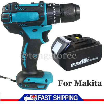 £60.35 • Buy For Makita Cordless Drill Electric Combi Impact Driver Screwdriver W/18V Battery