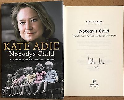 £6.99 • Buy Nobody's Child By Kate Adie Signed Second Impression Copy