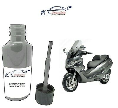 £6.50 • Buy For Piaggio Vespa Excalibur Grey - 738/a Paint Touch Up30ml Motorbike Scooter
