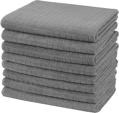 £14.95 • Buy Gryeer Microfibre Tea Towels, Soft, Super Absorbent And Lint Free Kitchen 45 X