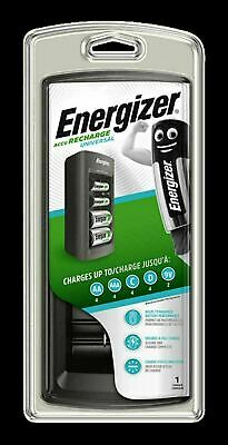 £19.99 • Buy Energizer Universal Rechargeable Battery Charger For AA AAA C D 9V Batteries