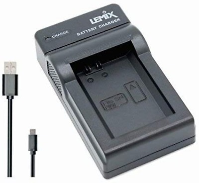 £14.99 • Buy Lemix (FW50) Ultra Slim USB Charger Compatible With Sony NP-FW50 Battery And Lis
