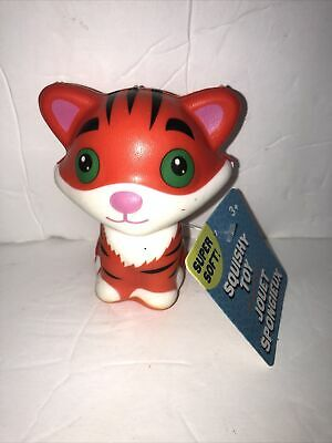 """AU4.73 • Buy JUMBOW Cute 4"""" """" TIGAR """" Slow Rising Squishes Scented TOY Tagged"""