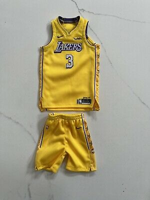$79.99 • Buy 1/6 Los Angeles Lakers 2019-20 City Edition Anthony Davis #3 Jersey For ENTERBAY