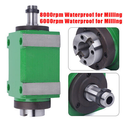 $284 • Buy Spindle Unit Power Head 2HP Waterproof For CNC Drilling Milling Machine 8000rpm
