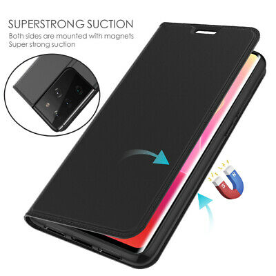 $ CDN7.54 • Buy Magnetic Leather Wallet Case Cover For Samsung Galaxy S21 Ultra 20 Plus 10E 9 8