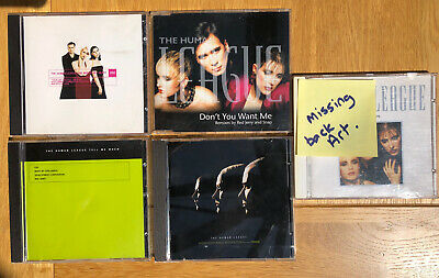 £3.99 • Buy Human League CD Job Lot X 5 Octopus, Tell Me When, Don't You Want Me, One Man